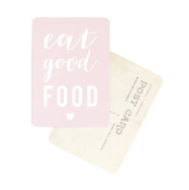 Carte Postale Eat good Food